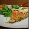 Roasted cauliflower tarte with caramelized Onions