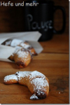 Almond Honey Crescents