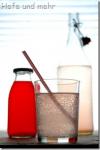 Rhubarb Syrup and Lemonade