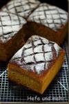 Pumkin Potato Bread baked in a baking frame