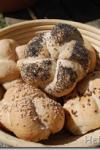 Kaiser rolls with Pâte fermentée