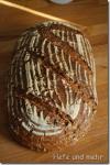 Multigrain Bread with soaked oat grains