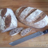 Flax seeds bread
