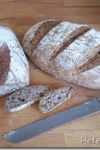 Flax seeds bread