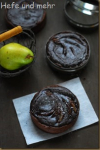 Pear Chocolate Tarteletts