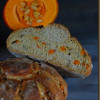 Pumpkin seed bread with roasted Pumpkin