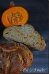 Pumpkin seed bread with roasted Pumpkin