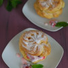 Red Currant Cream Puffs