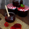 Raspberry and Red Currant Jam (without gelling sugar)