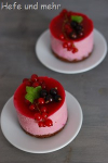 Black and Red Currant Mousse Cake