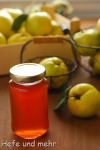 Quince Jelly (without gelling sugar)