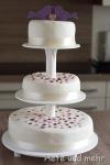 Wedding cake for Rahel & Stefan