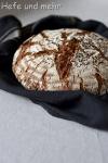 Sourdough bread with 60% rye