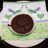 Chocolate custard muffins