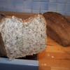Resteverwertung: Körner-Brot mit Semmelbröseln