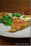 Blumenkohl-Tarte mit karamellisierten Zwiebeln