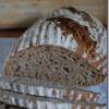 Weizenbrot mit Rosinensauerteig