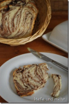 Schokoladenwirbel-Brot