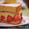 Fraisier–eine Erdbeer-Vanille-Torte