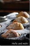 Weiße Schokolade-Muffins mit Vanille und Kardamom