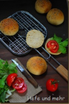 Burger-Brötchen mit Lievito madre