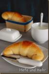 Frühstückshörnchen mit Lievito madre