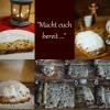 Vorbereitungen für die Stollenbäckerei