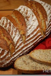 Quarkbrot mit Weizen, Hirse und Dinkel – BBD #24