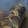 Sandwich-Brot mit Sauerteig und süßem Starter