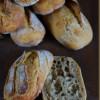 Baguettebrötchen mit süßem Starter