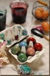 Ostereier färben - Naturfarben aus dem Entsafter