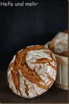 Bauernbrot mit altem Brot