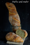 Brotbacken für Anfänger VIII: Frühlingshaftes Wildkräuterbrot