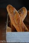Brotbacken für Anfänger XIX: Baguette mit Pâte Fermentée