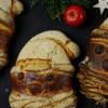Weihnachtsmann-Brote