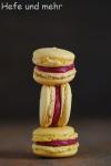 Zitronen-Himbeer-Macarons