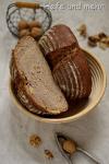Brotbacken für Anfänger: Buttermilch-Dinkellaib (mit Walnüssen)