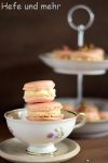 Rosenwasser-Himbeer-Macarons