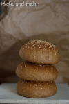 Dinkel-Emmer-Burgerbrötchen