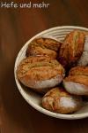 Kartoffelbrötchen mit Kürbiskernen