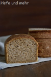 Vollkorn-Sandwichbrot (Backversuch)
