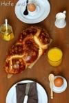 Sahne-Zopf (ohne Bäckerhefe)