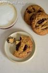 Chocolate Chunk Cookies mit Buchweizen