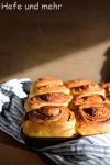 Karamell-Nuss-Schnecken zum Bloggeburtstag