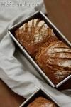 Buchweizen-Dinkel-Brot (Feierabendrezept)