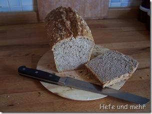 Sonnenblumenkerne-Quark-Brot
