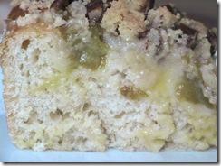 Plum crumbel cake
