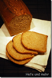 Joghurt-Honig Brot mit Vorteig