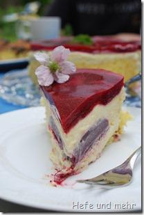 Weiße Schokoladenmousse Torte (2)