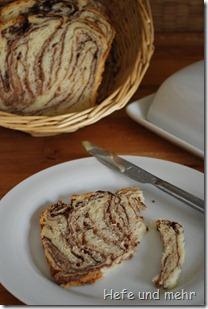 Schokowirbel Brot